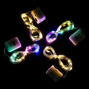 Đèn led đom đóm kèm sẵn pin 3 chế độ nháy DL01