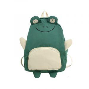 Balo đi học nữ thời trang Hàn Quốc hình mặt ếch