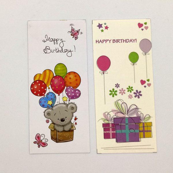 Thiệp happy birthday không bao thư TM04