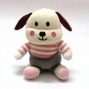 Thỏ bông tai dai dễ thương áo hồng TB01