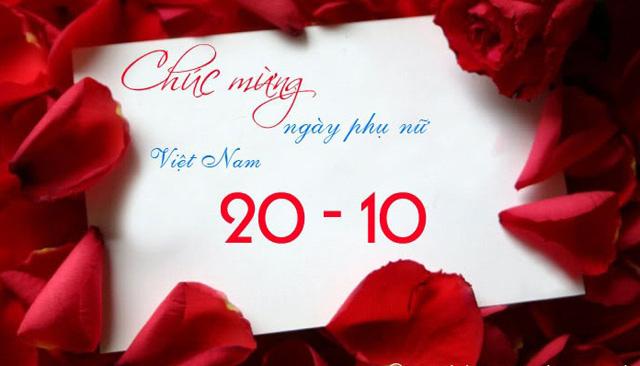 20 tháng 10 là ngày phụ nữ Việt Nam được tôn vinh