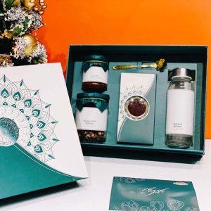 Hộp quà Tết Xanh- Nhụy hoa nghệ tây Saffron - HQ21 (3)