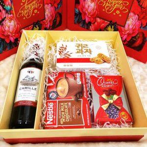 Hộp quà tết An Khang (Kèm túi) - QT110