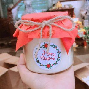 Hũ nến thơm Hanmade Merry Christmas - NT301